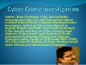 Cyber crime journal by central detective training school
