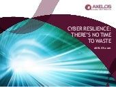 Cyber resilience itsm academy_april2015