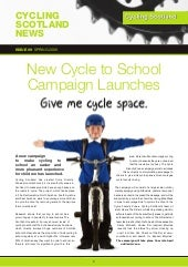 Cycling Scotland Newsletter Spring ...