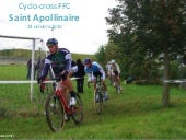 Cyclo cross ffc saint apollinaire