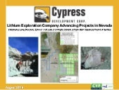 Cypress Development Corp. video