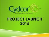 Cydcor's Project Launch 2015