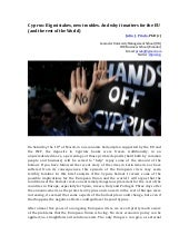 Cyprus Bailout: A big risk for Euro...