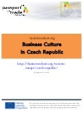 Czech business culture guide - Learn about the Czech Republic