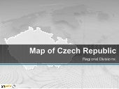 PowerPoint Czech Republic Map