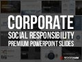 Corporate Social Responsibility PPT Slide Template