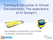 Training and Education in a Virtual...