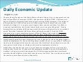 Daily Economic Update for August 12, 2010