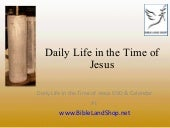 Daily Life in the Time of Jesus, Je...