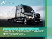 Mentoring Case Study: Daimler Trucks Reinvents Corporate Program