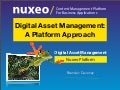 Digital Asset Management: A Platform Approach