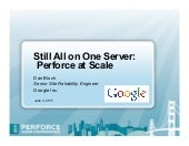 Still All on One Server: Perforce a...