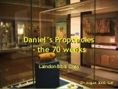 Daniels Prophecies   The 70 Weeks (...