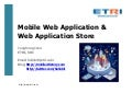Future of Mobile Web Application and Web App Store