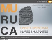 Linked Data in the Arts & Humanitie...