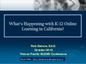 What's Happening with K-12 Online L...
