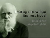 Creating a DarWINian Business Model