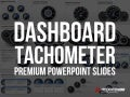 PowerPoint Dashboards Tachometer Template