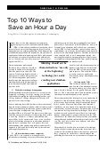 Ten Ways For DBA's To Save Time