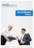 Data verification process
