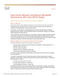 Data Center Migration and Network Bandwidth Assessments with Cisco MATE Design (White Paper)