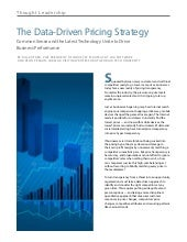 Data Driven Pricing Strategy