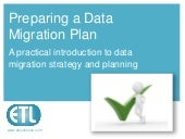 Preparing a data migration plan: A practical guide