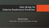 Data mining for diabetes readmission