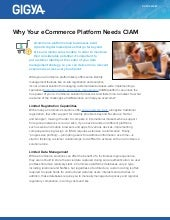 Data Sheet: Why Your eCommerce Platform Needs CIAM