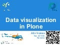 Data visualization in plone