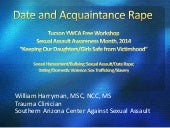 Date and Acquaintance Rape - as giv...