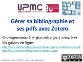 Doctorat sciences - Zotero 1