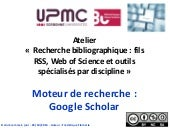 Doctorat sciences - Outil de recher...