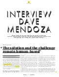 PaperJam Luxembourg Interviews Dave Mendoza Interview