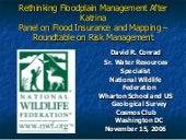 Rethinking Floodplain Management Af...