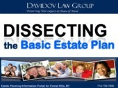 Dissecting the Basic Estate Plan