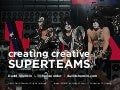 Creating Creative Superteams