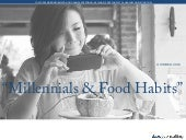 Chinese MIllennials and Food Habits