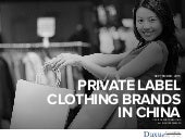 Private Label Clothing Brands in China | Daxue Consulting