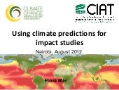 Mer F - Use of climate predictions ...