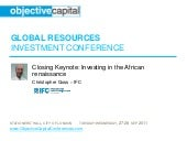 Investing in the African renaissance