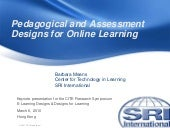 Pedagogical and Assessment Design f...