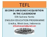 Second language acquisition in the ...