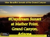 #Daydream Sunset at Mather Point, Grand Canyon, Arizona
