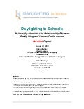 Daylighting study