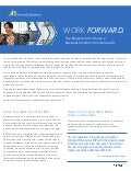Microsoft Dynamics for Small and Mid-sized business brochure: Work Forward