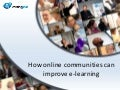 Communities in e-learning