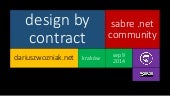 Design by Contract | Code Contracts in C# .NET