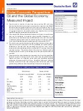 Db Oil & The Global Economy