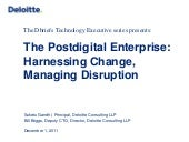 The Postdigital Enterprise: Harness...